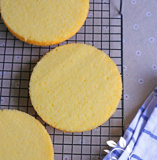 海绵蛋糕的家常做法