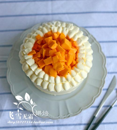 杭州蛋糕培训班:芒果奶油蛋糕的做法
