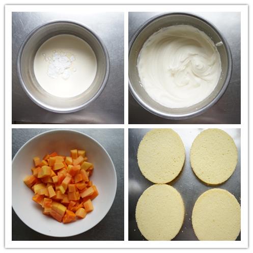 杭州蛋糕培训班:芒果奶油蛋糕