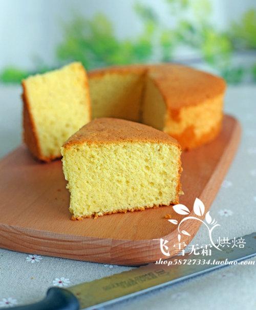 杭州蛋糕培训班:香草海绵蛋糕的做法