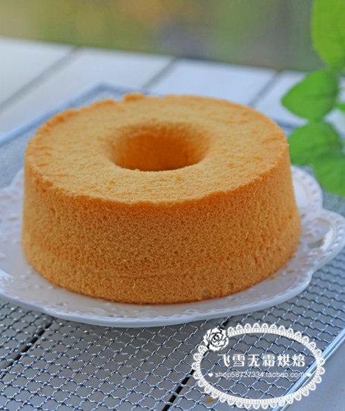 杭州蛋糕培训班:中空戚风的做法