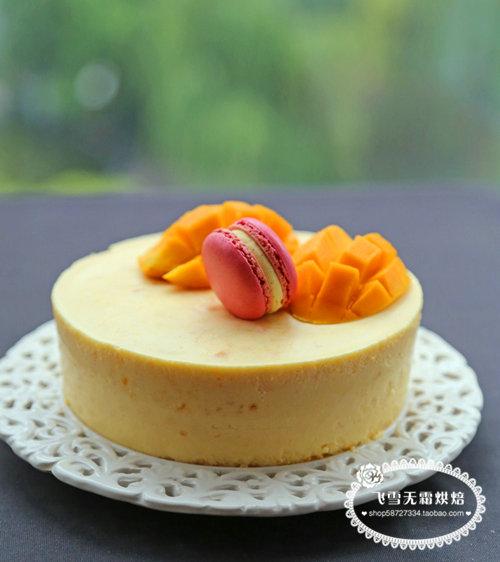 杭州蛋糕培训班:芒果慕斯蛋糕的做法