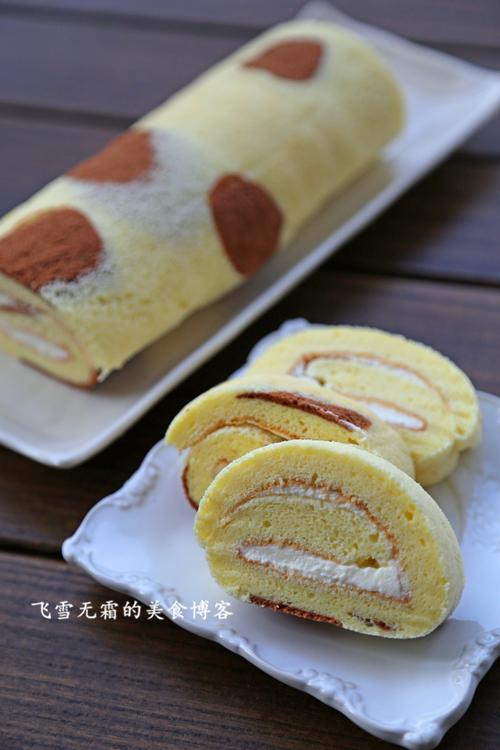 杭州蛋糕培训班:奶牛蛋糕卷的做法