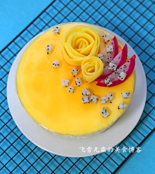 杭州蛋糕培训班:水果慕斯蛋糕的做法大全