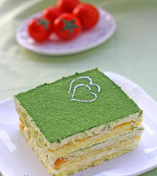 杭州蛋糕培训班:抹茶提拉米苏