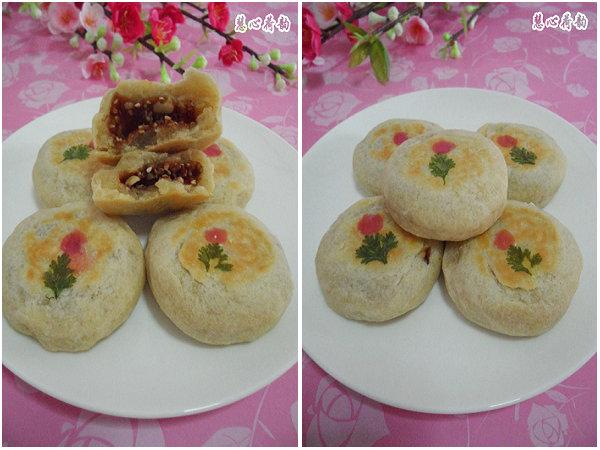 山西:秦汉时期就有的的农家传统手工月饼——山西空心月饼(红糖果仁馅)