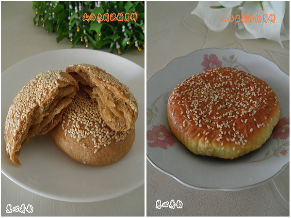 山西:历史悠久的不带馅的传统特色月饼—大同混糖月饼
