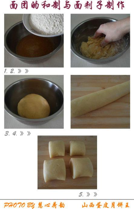 山西蛋皮月饼王—如蛋糕般松软的晋式月饼王中王私房制作配方(家庭版)