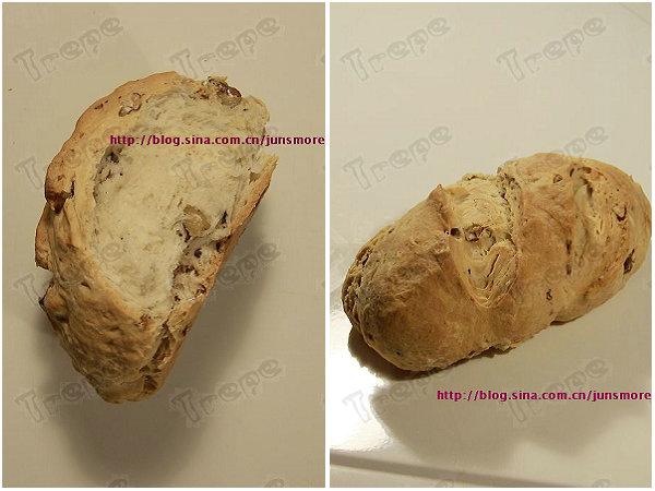 核桃优格苏打面包的做法[君之]