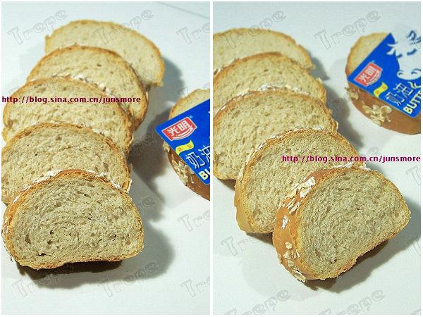 全麦面包的做法[君之]