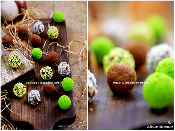 松露巧克力的做法_松露巧克力怎么做【君之】