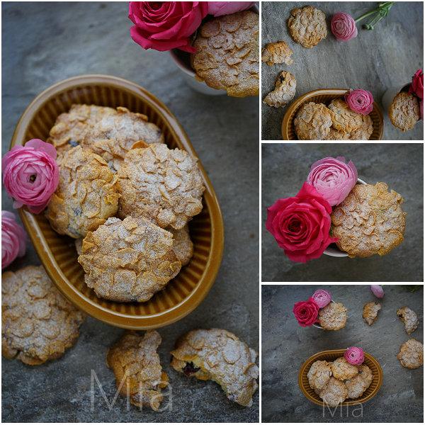 沙漠玫瑰意式脆饼的做法[米娅_食味]