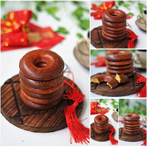 蛋糕甜甜圈的做法[美美家的厨房]