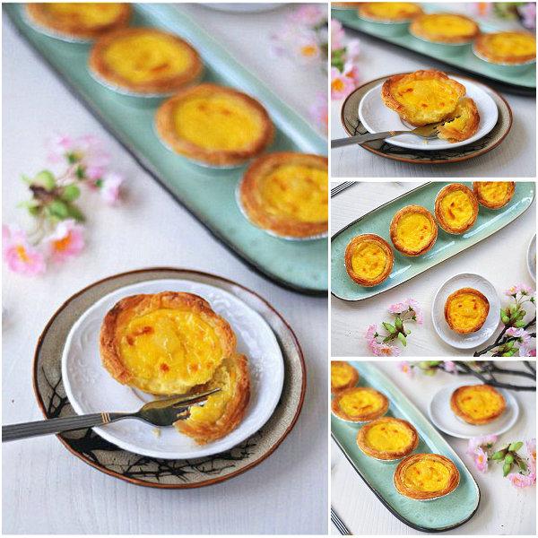 菠萝蛋挞的做法[美美家的厨房]