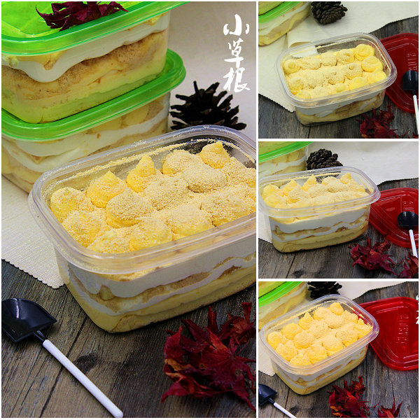 奶酪豆乳盒子蛋糕的做法[小草根家庭美食]
