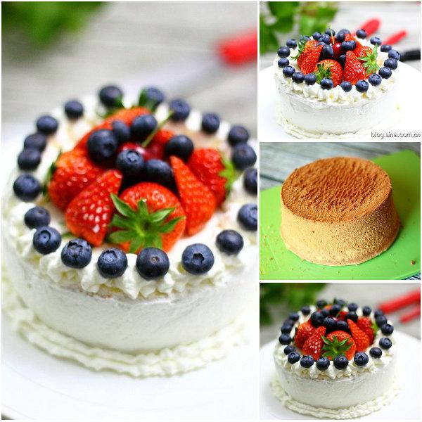 奶油蛋糕的做法[黄豆豆的一家]