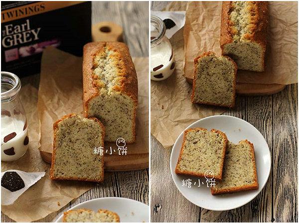 伯爵奶茶磅蛋糕的做法[糖小饼Halloween]