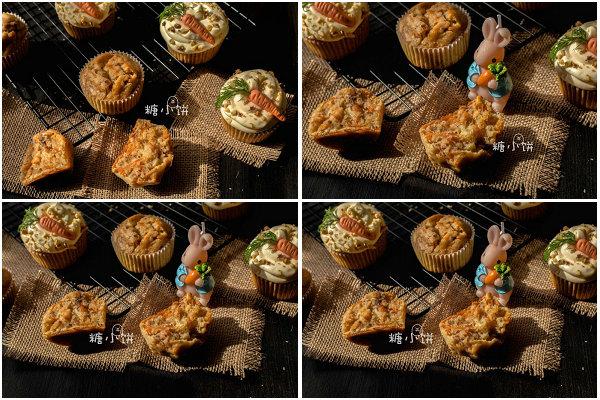 胡萝卜蛋糕的做法[糖小饼Halloween]