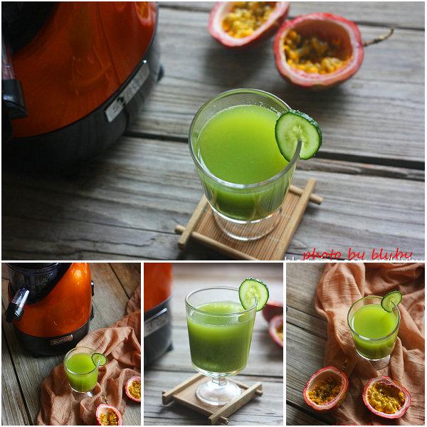 百香果蜂蜜黄瓜汁的做法[布鲁比]