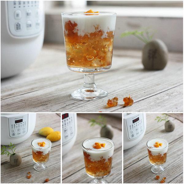 芒果酸奶桃胶的做法[布鲁比]