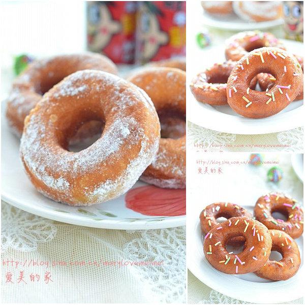 面包甜甜圈的做法[爱美的家]