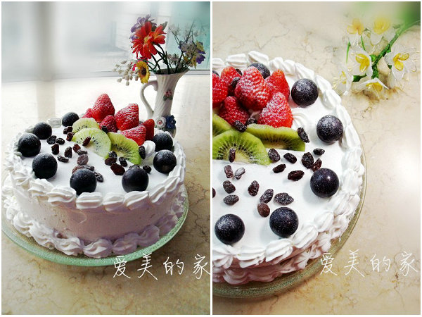 草莓奶油蛋糕的做法[爱美的家]