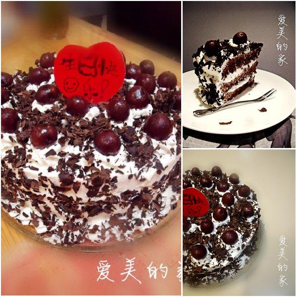 黑森林蛋糕的做法[爱美的家]