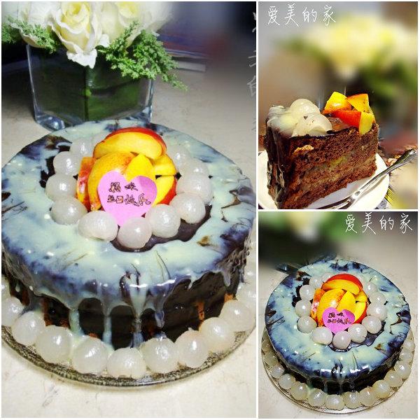 双色脆皮蛋糕的做法[爱美的家]