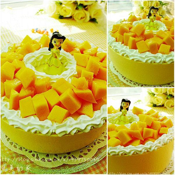 芒果慕斯蛋糕的做法[爱美的家]
