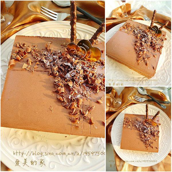 巧克力慕斯蛋糕的做法[爱美的家]