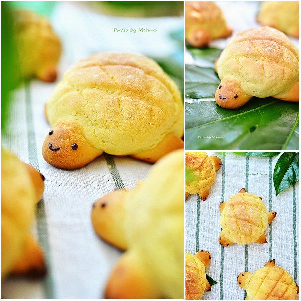 小乌龟菠萝包的做法