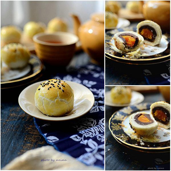 蛋黄酥的做法[爱美的家]