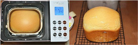 面包机版老式面包的做法