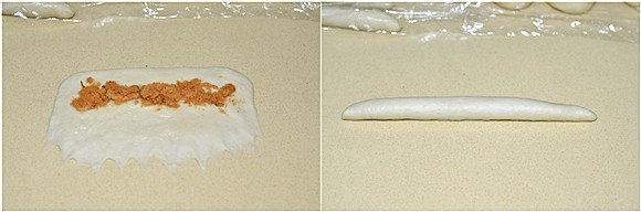 肉松辫子面包的做法
