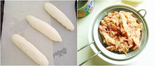 金枪鱼面包的做法