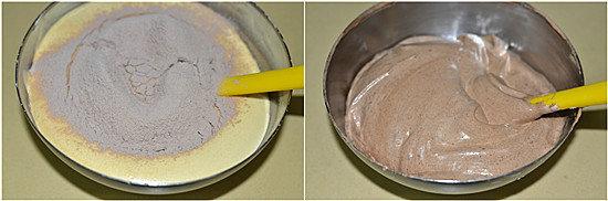 可可海绵奶油裸蛋糕的做法