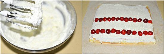 彩绘樱桃蛋糕卷的做法
