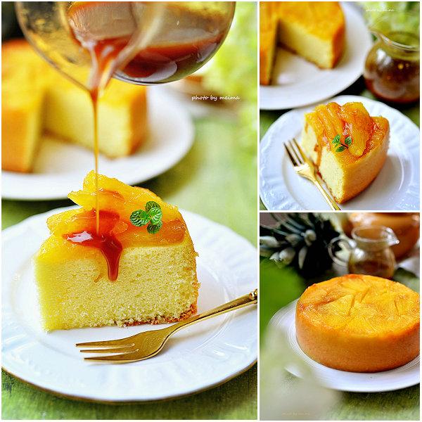 菠萝翻转蛋糕的做法[爱美的家]