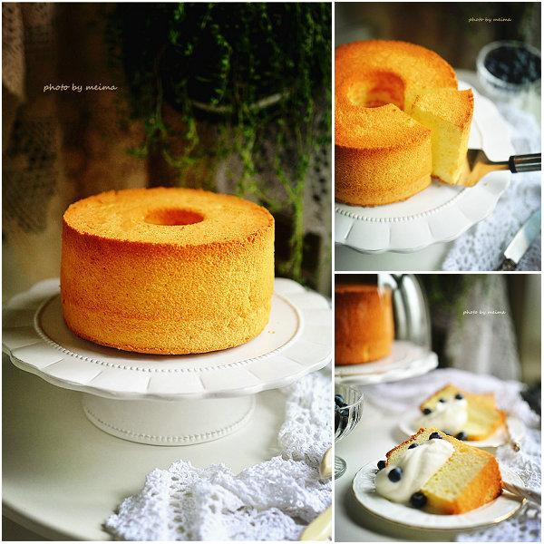 酸奶戚风蛋糕的做法[爱美的家]