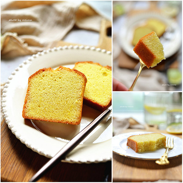 香草磅蛋糕的做法[爱美的家]