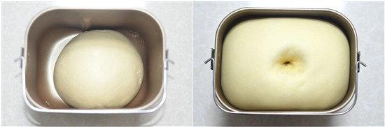 鲜奶雪露面包的做法