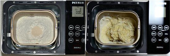 淡奶油蜜豆吐司的做法