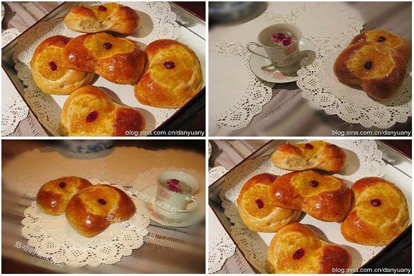 心形果酱面包的做法[youhaha0的厨房]