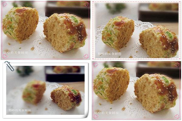 肉松香葱面包卷的做法[youhaha0的厨房]