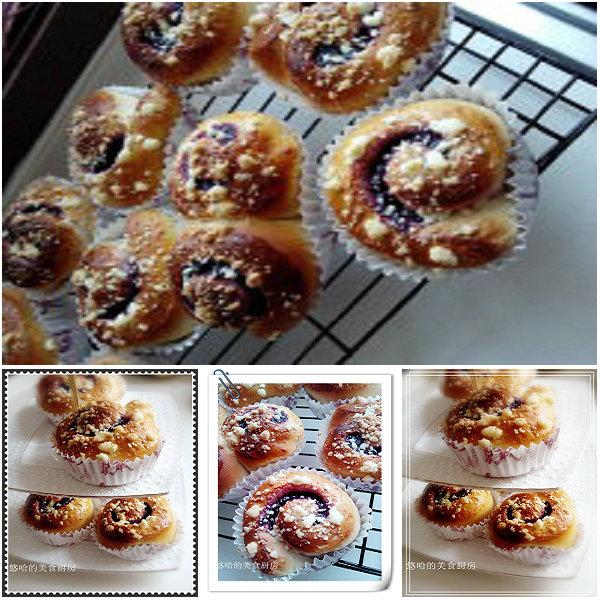 香酥紫薯面包卷的做法
