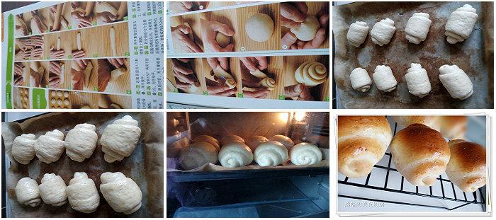 咖喱土豆泥餐包、小黄油卷的做法