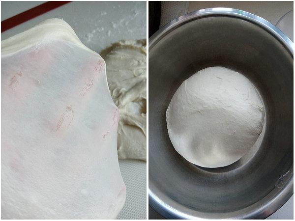 低油低糖无蛋的白土司的做法