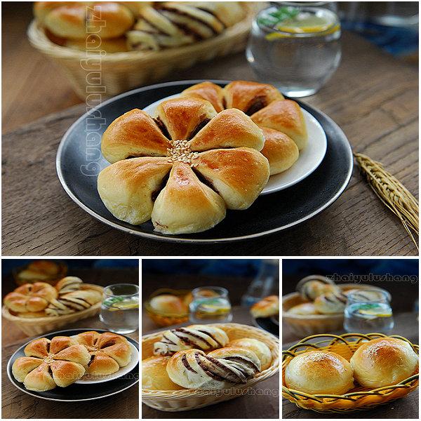 豆沙面包的做法[宅与路上]
