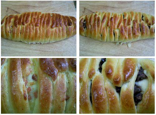 花式面包的做法
