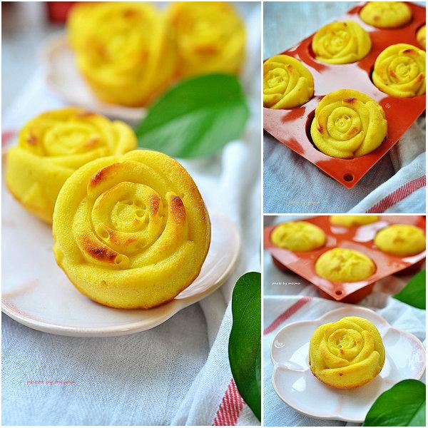 百香果玫瑰蛋糕的做法[爱美的家]